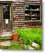 North Country Antiques Metal Print