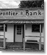 North Dakota Frontier Bank Metal Print