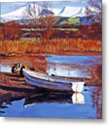 North England Lake Metal Print