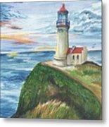 North Head Lighthouse Metal Print