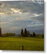 North Idaho Sunrise Metal Print