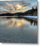North Lake Tahoe Spring Sunset Metal Print