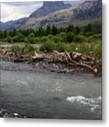 North Of Dubois Wy Metal Print