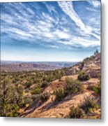 North Of Moab Metal Print