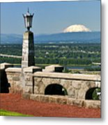 North Of Portland Metal Print