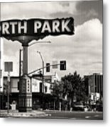 North Park San Diego Metal Print