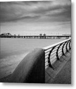 North Pier Blackpool Metal Print