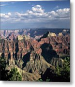 North Rim Metal Print