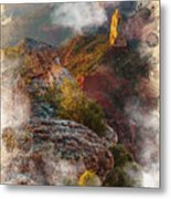 North Rim Of The Grand Canyon Metal Print