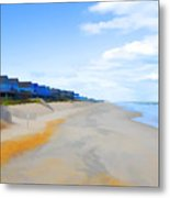 North Sea Beach 3 Metal Print