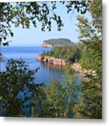 North Shore Lake Superior Metal Print