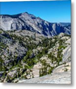 North Side Of Half Dome Valley Metal Print