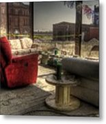 North St. Louis Porch Metal Print