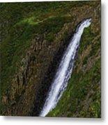 North Table Mountain Falls Metal Print