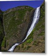 North Table Mountain Spring Falls Metal Print