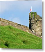 North Tower- Tutbury Castle Metal Print