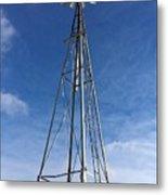 North Windmill Metal Print