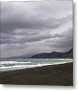 Northern California Beach Metal Print