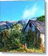 Northern California Cottage Metal Print