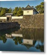 Northern Gate Of Edo Castle Metal Print