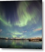 Northern Light Xiv Metal Print