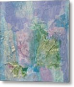 Northern Lights Collage Metal Print