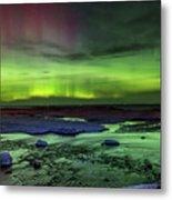 Northern Lights Pendells Creek -7824 Metal Print