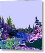 Northern Ontario River Metal Print
