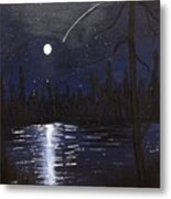 Northern Shooting Star Metal Print