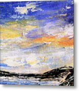 Northern Tundra Metal Print