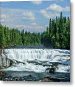 Northern Waterfall Metal Print