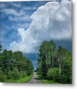Northwoods Road Trip Metal Print