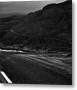 Norwegian Arctic Coastal Highway Metal Print