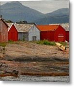 Norwegian Coast No. 3 Metal Print