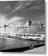 Norwegian Epic Visit Metal Print