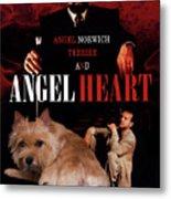 Norwich Terrier Art Canvas Print - Angel Heart Movie Poster Metal Print