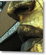 Nose And Lips Metal Print