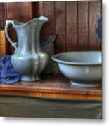 Nostalgia Wash Stand Metal Print by Bob Christopher