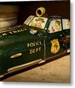 Nostalgia - Wind Up Car Toy Metal Print