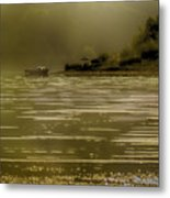 Nostalgic Morning Metal Print