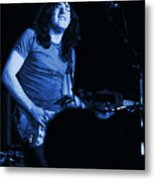 Not Awake Yet Blues Metal Print
