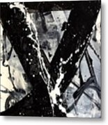 Not Just Black And White Metal Print