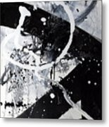 Not Just Black And White2 Metal Print