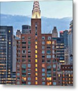Not The Chrysler Building Nyc Metal Print
