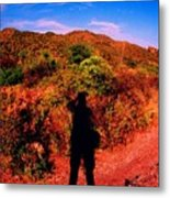 Nothing But A Shadow Metal Print