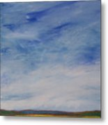 Nothing But Blue Skies Metal Print