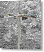 Nothing But The Cross Metal Print