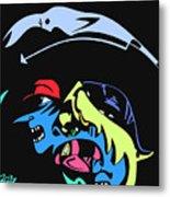 Notorious B.i.g. Full Color Metal Print