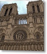 Notre-dame Cathedral Metal Print