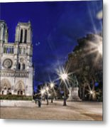 Notre Dame Cathedral Paris 2 Metal Print